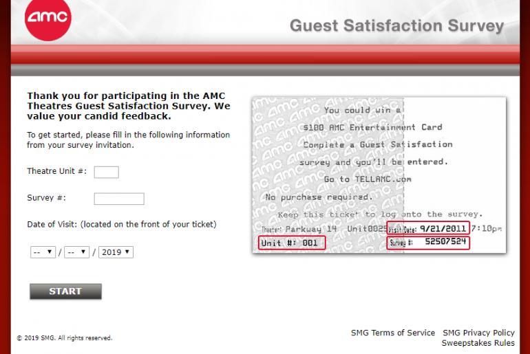 AMC-Theatres-Guest-Satisfaction-Survey-Welcome