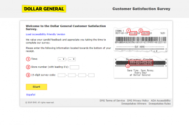 Dollar-General-Customer-Satisfaction-Survey-Welcome