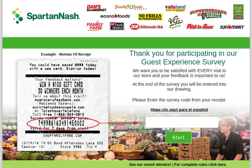 SpartanNash-Guest-Experience-Survey