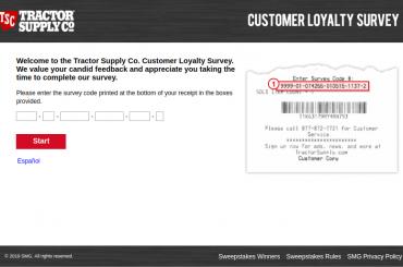 Tractor-Supply-Company-Customer-survey