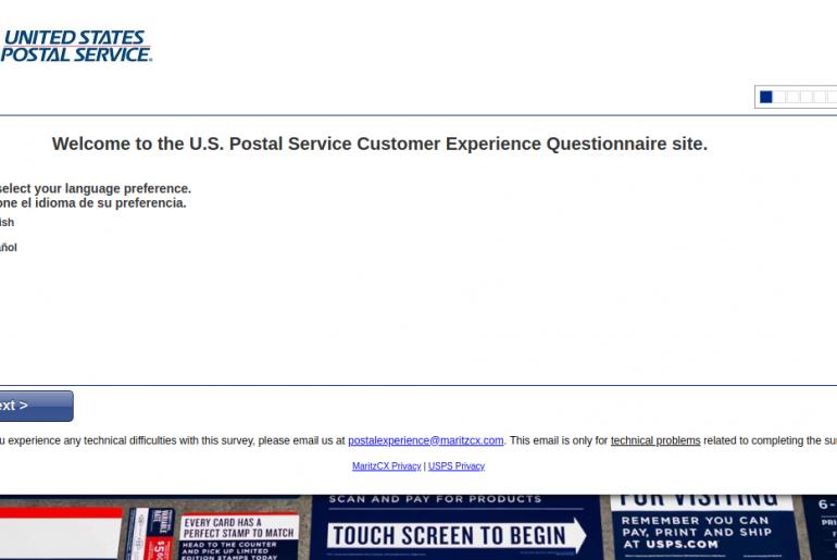 United States Postal Service Customer Survey
