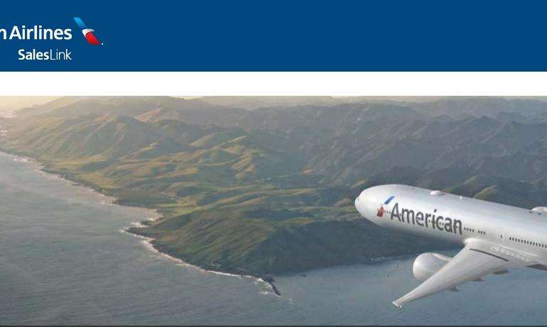 American Airlines SalesLink Logo