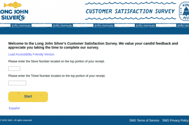 Long John Silver s Customer Survey