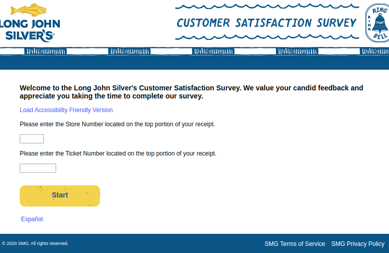 Long John Silver s Customer Survey