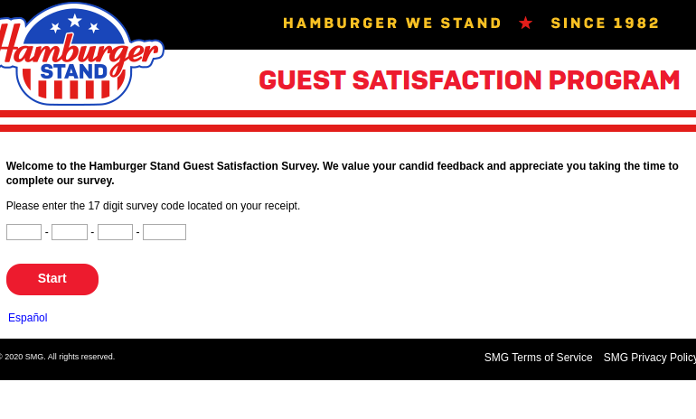 Hamburger Stand Survey