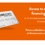 Amazon Store Credit Card Logo