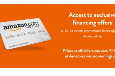 Amazon Store Credit Card Logo