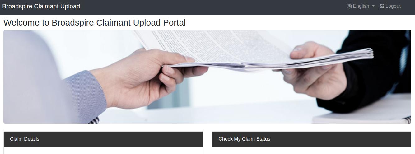 Claimant Upload Logo