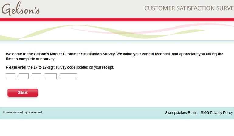 Gelsons Market Customer Survey