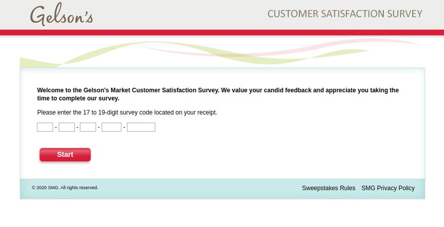 Gelsons Market Customer Survey