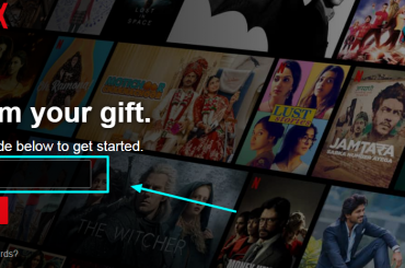 Redeem Netflix Gift Online With PIN