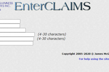 EnterClaims Account login