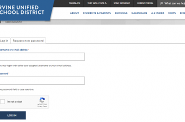 IUSD Parent Login