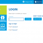 Login Process for Pepco