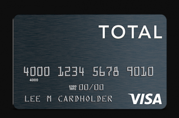 Total Visa Credit Card Logo