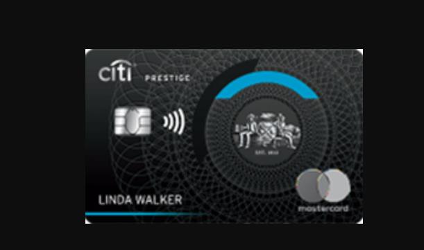 citi prestige card logo