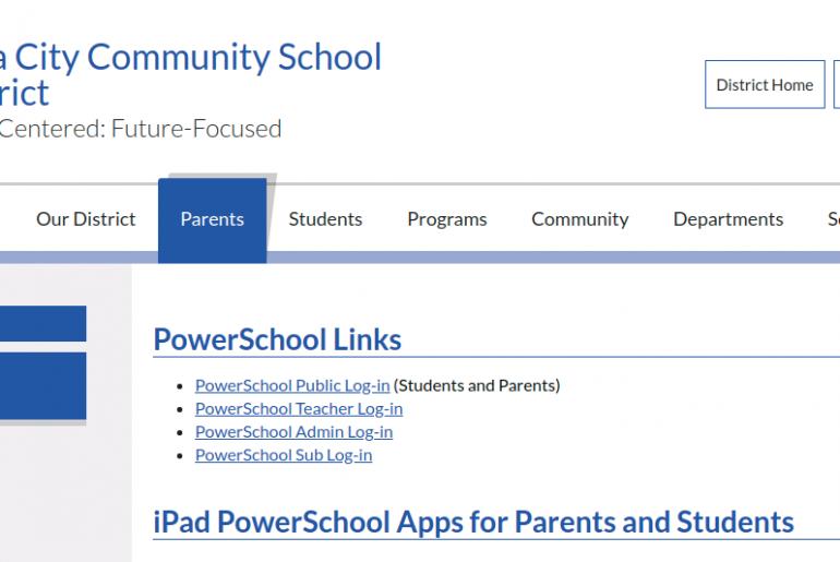 iccsd powerschool parent logo