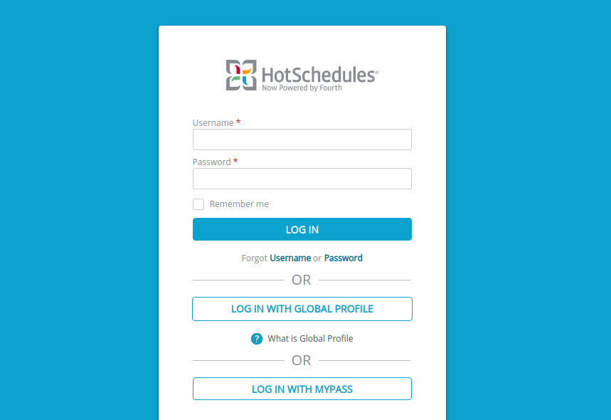 HotSchedules Login