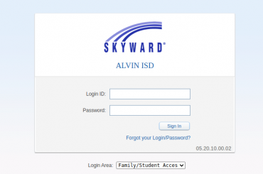 skyward alvinisd login