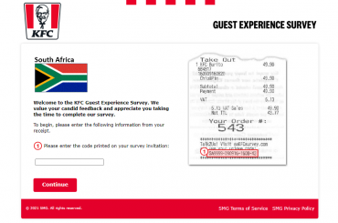 KFC South Africa Survey
