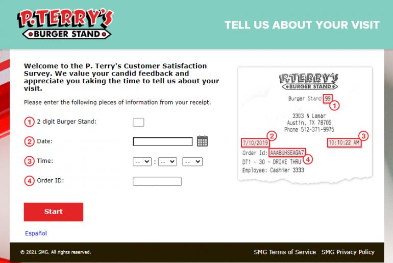 P Terry Survey