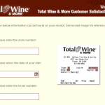 total wine survey
