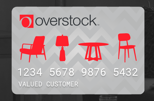 overstock store card