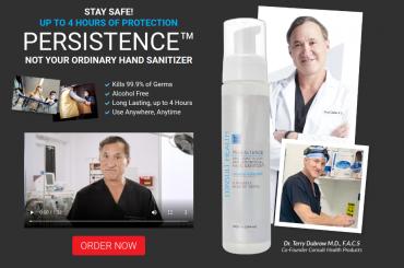 persistence hand sanitizer